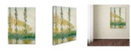 "Trademark Global Claude Monet 'The Three Trees Autumn' Canvas Art - 32"" x 26"""
