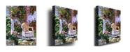"Trademark Global David Lloyd Glover 'The Sun Chair' Canvas Art - 24"" x 18"""