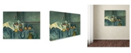 "Trademark Global Paul Cezanne 'The Peppermint Bottle 1893-95' Canvas Art - 47"" x 35"""