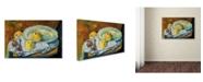 "Trademark Global Paul Serusier 'Plate of Apples 1891' Canvas Art - 47"" x 30"""