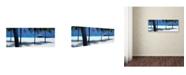"Trademark Global David Evans 'Midday Breeze' Canvas Art - 24"" x 8"""