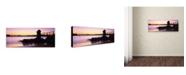 "Trademark Global David Evans 'Camp Cove-Sydney' Canvas Art - 19"" x 6"""