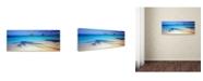"Trademark Global David Evans 'Mokulua-Hawaii' Canvas Art - 32"" x 10"""