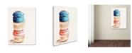 "Trademark Global Jennifer Redstreake 'Stacked Cupcakes No Words' Canvas Art - 18"" x 24"""