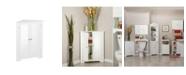 RiverRidge Home Ellsworth Collection 3-Shelf Corner Cabinet