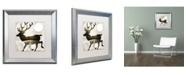 "Trademark Global Color Bakery 'Going Wild I' Matted Framed Art - 16"" x 16"""