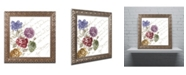 """Trademark Global Color Bakery 'La Belle Vie I' Ornate Framed Art - 16"""" x 16"""""""