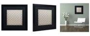 "Trademark Global Color Bakery 'English Garden III' Matted Framed Art - 16"" x 16"""