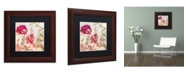 "Trademark Global Color Bakery 'Always Paris II' Matted Framed Art - 11"" x 11"""