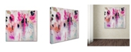 """Trademark Global Carrie Schmitt 'Unintentional Beauty' Canvas Art - 14"""" x 14"""""""