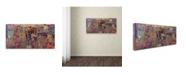 "Trademark Global Josh Byer 'Canadian Gothic' Canvas Art - 10"" x 19"""