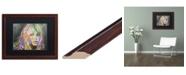 """Trademark Global Dean Russo 'Bardot1' Matted Framed Art - 16"""" x 20"""""""