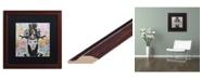 "Trademark Global Dean Russo 'Lucid' Matted Framed Art - 16"" x 16"""