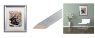 """Trademark Global Dean Russo 'Jerry 2' Matted Framed Art - 16"""" x 20"""""""