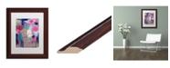 """Trademark Global Carrie Schmitt 'Visible Grace' Matted Framed Art - 11"""" x 14"""""""