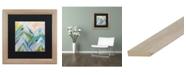 """Trademark Global Carrie Schmitt 'Colorado Bluebird Sky' Matted Framed Art - 16"""" x 16"""""""