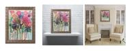 """Trademark Global Carrie Schmitt 'Flower Demo' Ornate Framed Art - 11"""" x 14"""""""