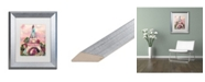 "Trademark Global Natasha Wescoat 'Lumiere De La Ville' Matted Framed Art - 11"" x 14"""
