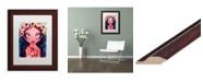 "Trademark Global Natasha Wescoat 'Rosary' Matted Framed Art - 11"" x 14"""