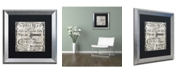 "Trademark Global Color Bakery 'Paris Bistro III' Matted Framed Art - 16"" x 16"""