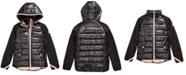 Michael Kors Toddler Girls Hooded Puffer Jacket