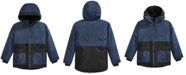Michael Kors Toddler Boys Hooded Snorkel Jacket With Faux-Fur Lining