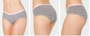 Jenni Striped Hipster Underwear, Created for Macy's