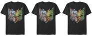 Marvel Men's Comic Collection Kawaii Avenger Panels Short Sleeve T-Shirt