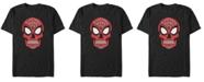 Marvel Men's Spider-Man Sugar Skull Big Face Mask Short Sleeve T-Shirt