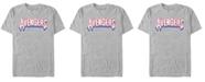 Marvel Men's Comic Collection Avengers Logo Short Sleeve T-Shirt