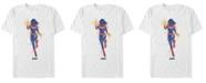 Marvel Men's Captain Marvel Watercolor Short Sleeve T-Shirt