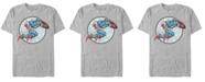 Marvel Men's Comic Collection Retro Captain America Short Sleeve T-Shirt
