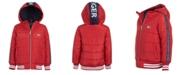 Tommy Hilfiger Little Boys Hooded Baseball Jacket