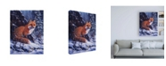 "Trademark Global R W Hedge Audible Hush Canvas Art - 27"" x 33.5"""