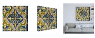 "Trademark Global Philippe Hugonnard Made in Spain 3 Details of Oriental Mosaic Canvas Art - 15.5"" x 21"""