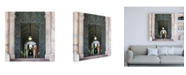 "Trademark Global Philippe Hugonnard Dolce Vita Rome 3 Swiss Guard of Vatican Canvas Art - 36.5"" x 48"""