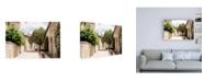 "Trademark Global Philippe Hugonnard France Provence Provencal Street Scene II Canvas Art - 36.5"" x 48"""