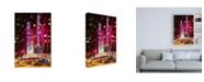 "Trademark Global Philippe Hugonnard Radio City Music Hall Photograph Canvas Art - 19.5"" x 26"""
