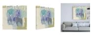 "Trademark Global Jennifer Goldberger Pastel Composition I Canvas Art - 36.5"" x 48"""