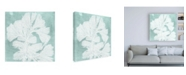 "Trademark Global Vision Studio Seaweed on Aqua IV Canvas Art - 15.5"" x 21"""