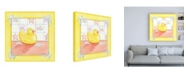 "Trademark Global Megan Meagher Small Rubber Duck I Childrens Art Canvas Art - 19.5"" x 26"""
