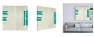 "Trademark Global Chariklia Zarris Luciens F 6 Up Canvas Art - 36.5"" x 48"""