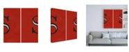 "Trademark Global Chariklia Zarris Luciens S 6 Up Canvas Art - 15.5"" x 21"""