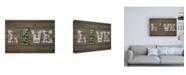 "Trademark Global Design Turnpike MS State Love Canvas Art - 27"" x 33.5"""