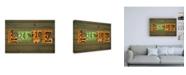 "Trademark Global Design Turnpike CO State Love Canvas Art - 36.5"" x 48"""
