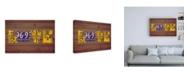"Trademark Global Design Turnpike OR State Love Canvas Art - 36.5"" x 48"""
