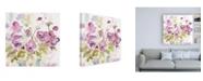 "Trademark Global Sheila Golden Viola Impressions Canvas Art - 36.5"" x 48"""