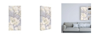 "Trademark Global James Wiens Breezy Blossoms I Sage Canvas Art - 15.5"" x 21"""