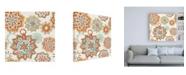 "Trademark Global Mary Urban Autumn Friends Pattern IA Canvas Art - 15.5"" x 21"""