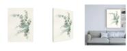 "Trademark Global Danhui Nai Scented Sprig III Cool Canvas Art - 27"" x 33.5"""